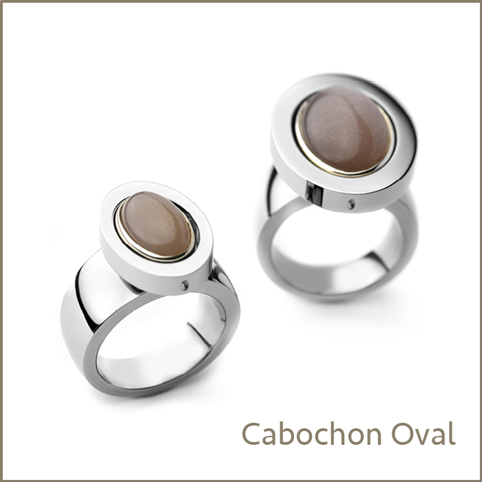 cabochon oval